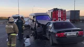 Один человек пострадал в результате ДТП на Бельском мосту