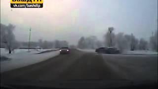 ВИДЕО: Водитель в Мелеузе, грубо нарушивший ПДД, с