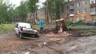 В Башкирии ликвидируют последствия природной стихии