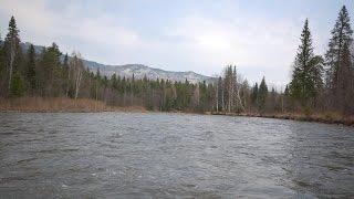 Сплав по реке Юрюзань, хребет Зиагальга, Южный Урал