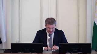 оперативное совещание в правительстве республики башкортостан  прямая трансляция 1 октября 2019 года