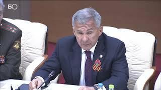 Минниханов: «За четыре года численность ветеранов, проживающих в Татарстане, снизилась в два раза»