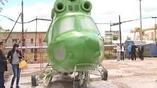 В Давлеканово «исчезнувший» вертолет установят на новом месте