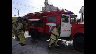 Учения пожарной безопасности в ТЦ Инза г. Благовещенск