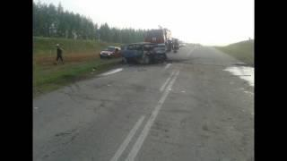 В ДТП на 50 ом километре автодороги Татышлы Янаул погибли четыре человека
