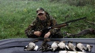 Охота в Татарстане и Башкирии(охота на уток) #1.