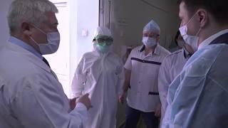 Дёмская больница сможет принять пациентов инфицированных коронавирусом