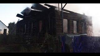 На тему дня. Пожар в Бирском районе.