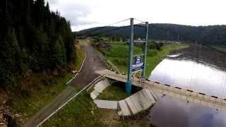 Башкирия. Матавла. Мост через реку Уфа.