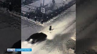 Шла на работу в больницу: в Башкирии таксист сбил женщину на «зебре»