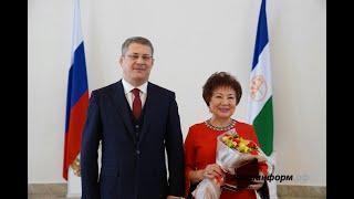Диктор  Наиля Галяутдинова получила звание «Заслуженный работник культуры Российской Федерации»