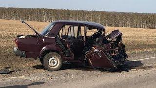 На трассе в Башкирии в ДТП погибла женщина, двое детей госпитализированы