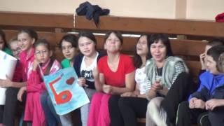 Веселые старты в школе №4
