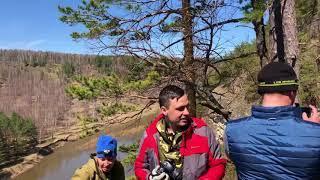 Река Ай. Республика Башкортостан. Сплав в мае.