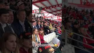 ВРИО Главы Республики Башкортостан Радий Хабиров болеет за ФК «Уфа»