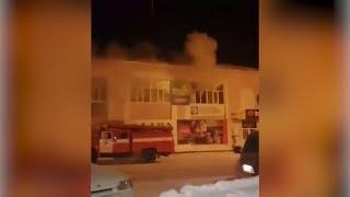 Пожар в Нефтекамске