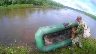 Рыбалка на реке Ай  в Башкирии-2017 г. Видео Нусратуллина