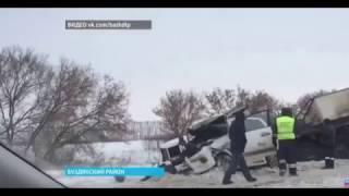 Уфа, Башкирия, ДТП, лоб в лоб, Лексус и Камаз, М-5 трасса, Буздякский район, 1 января 2017 года