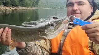 Ловим судака, щуку на джиг и твичинг. Нугушское водохранилище - отдых, рыбалка, красота!!!