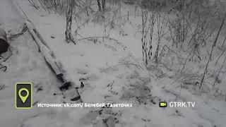 В Башкирии неизвестные спилили железнодорожные рельсы