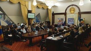 Встреча Бориса Беляева со студентами и аспирантами в Москве