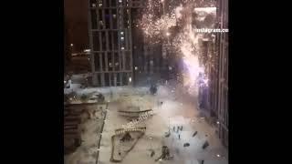 В Уфе в новогоднюю ночь толпа неизвестных избила прохожего