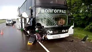 Разбился автобус «Анапа-Волгоград» с отпускниками: трое пострадавших