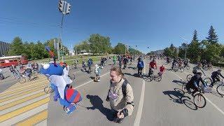 День тысячи велосипедистов Уфа 2019 в 360°