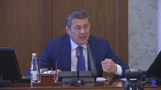 """UTV. """"Я не позволю над собой потешаться"""" - Радий Хабиров раскритиковал доклад чиновника"""
