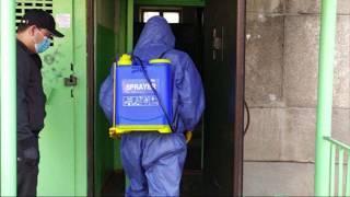 Как проходит дезинфекция в многоэтажных домах Алматы