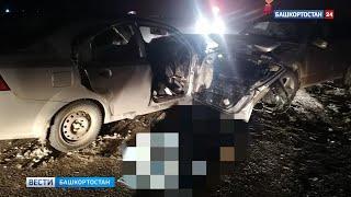 Сел пьяным: появилось видео с места смертельного ДТП, в которое попала семья с ребёнком в Башкирии