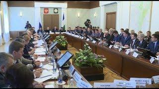 Радий Хабиров встретился с депутатами Госдумы и членами Совета Федерации от Башкортостана