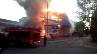 Пожар в развлекательном комплексе Нефтекамска