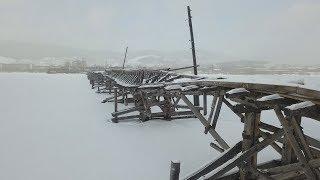 UTV. Стало известно, когда разберут знаменитый деревянный мост в Белорецке