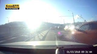 Момент аварии на Затонском мосту