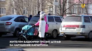 Новости UTV. В Салавате 164 человека находятся на самоизоляции