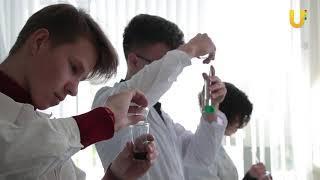 Новости UTV. Городская олимпиада школьников по химии