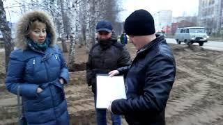 Аветик Нргеян Овикович (ООО Танып) нападает на журналиста Нефтекамск