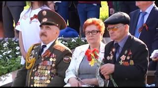 Уфа встретила День Победы масштабным парадом