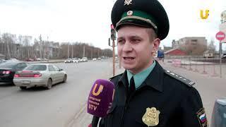 Новости UTV. Совместный рейд судебных приставов с ГИБДД в Стерлитамаке