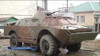 В Караидельском районе начали подготовку ко Дню Победы
