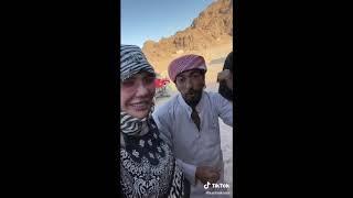 Карина и Женя на отдыхе в Египте
