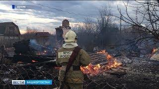 В Башкирии действует особый противопожарный режим