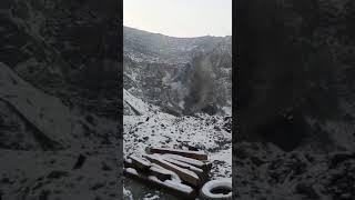 Чс в Сибае, горит сера УГМК. Чрезвычайное происшествие. В карьере загорелась сера.