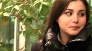 Красивая девушка из Башкирии про новый железно-дорожный вокзал столицы Башкортостана г. Уфы