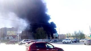 Пожар в Октябрьском, Башкирия
