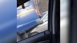 Массовая авария на трассе в Башкирии