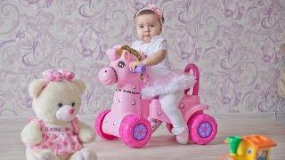 Прекрасной малышке Амине 1 годик. Видеограф видеосъёмка  Уфа Стерлитамак Мелеуз Салават Кумертау