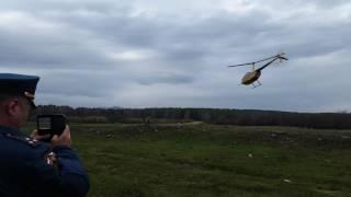 Последнее видео выхода в воздух вертолета упавшего в Белорецком районе Республики Башкортостан