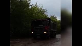 Дорога в с. Тугай Благовещенского района Башкирии.